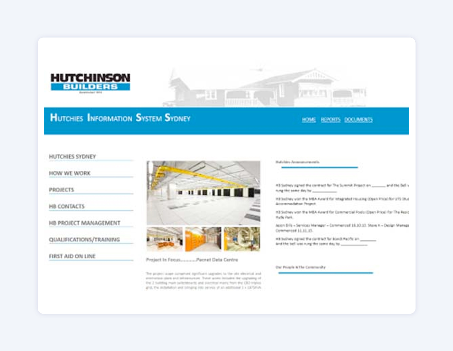 Hutchies: Building Management Database